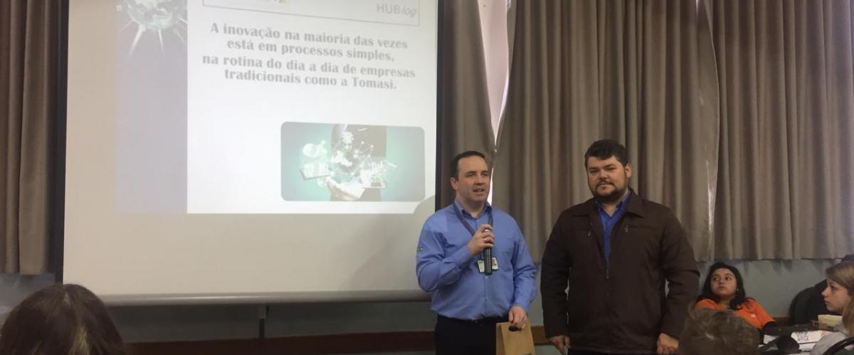 Tomasi Logística participa do Grand Prix SENAI de Inovação