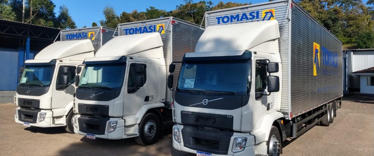 Tomasi Logística segue investindo na renovação e ampliação da frota própria