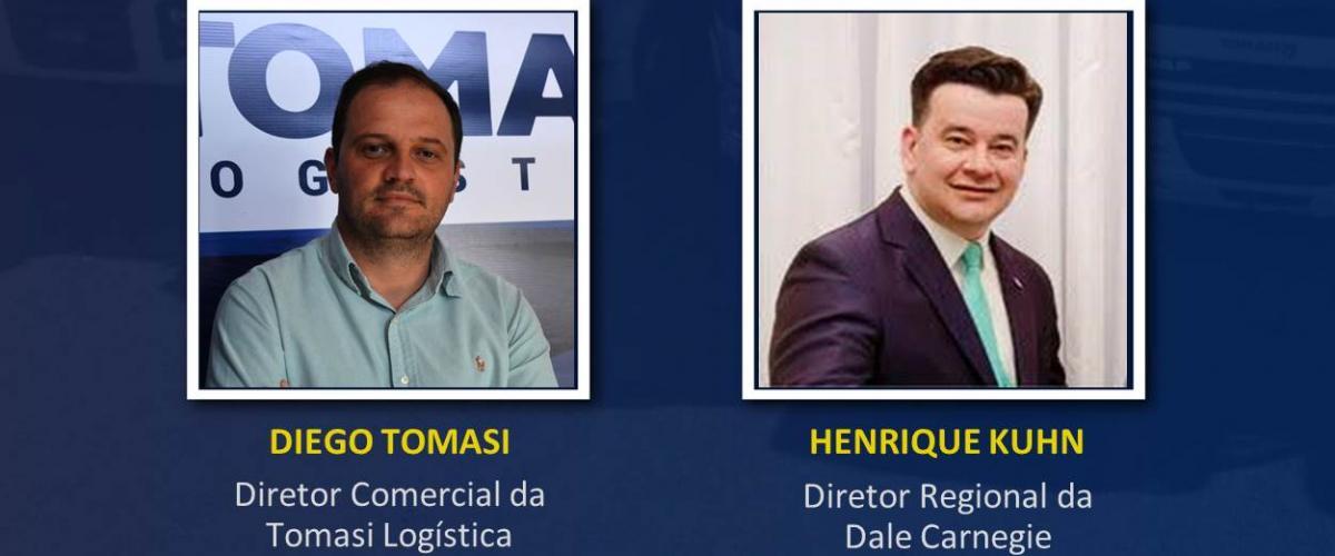 """Tomasi Logística inicia """"lives"""" sobre empreendedorismo, inovação e transporte de cargas"""