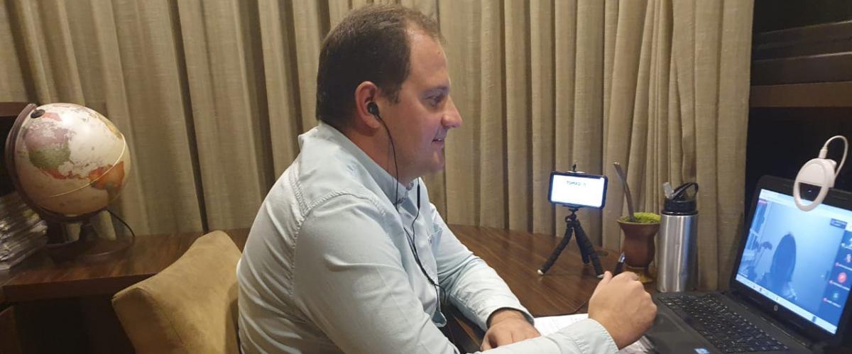 Tomasi Logística participa de palestras virtuais nas universidades do Vale do Taquari e Rio Pardo