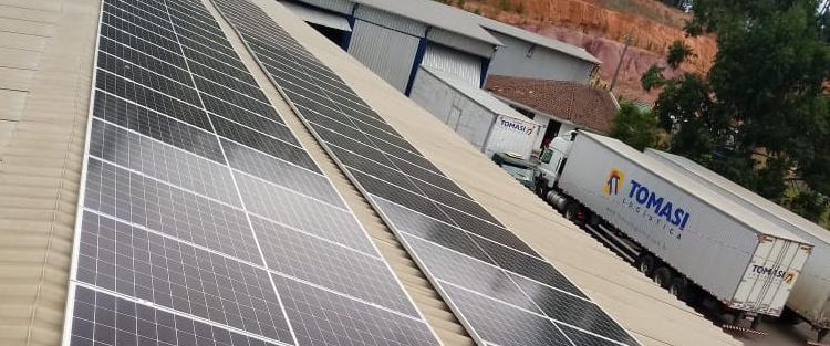 Tomasi Logística investe em energia sustentável visando o mínimo impacto ambiental