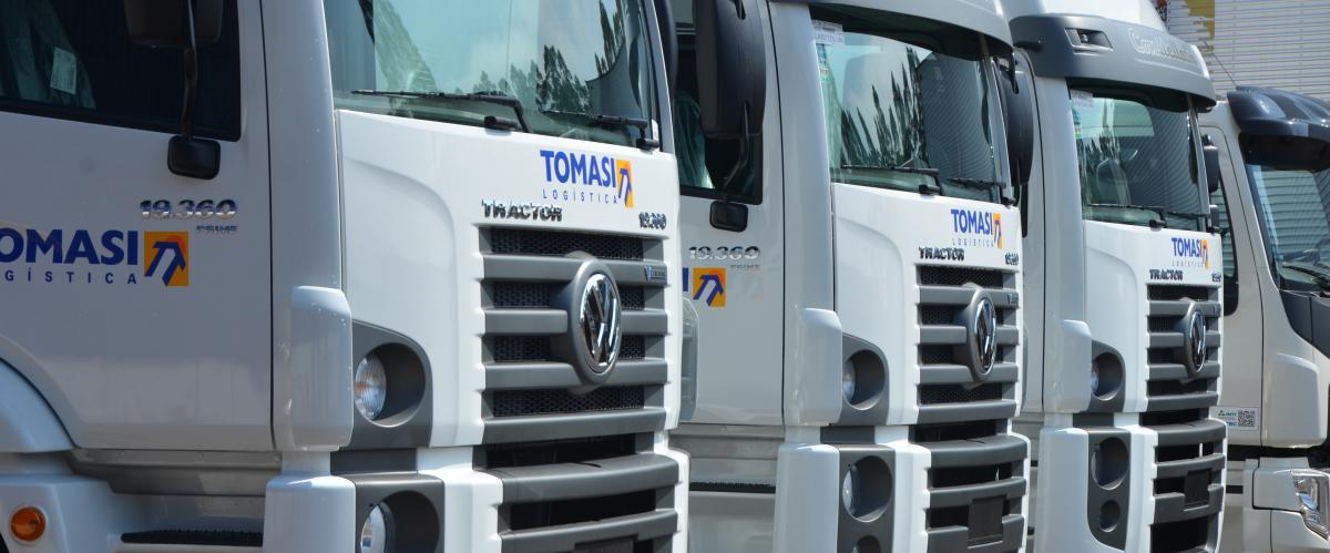 Tomasi Logística abre 20 vagas para motoristas de longa distância