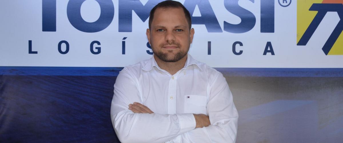 Rodrigo Tomasi é o 1º presidente da Associação Estrelense Pró-Segurança Pública (Aespro)