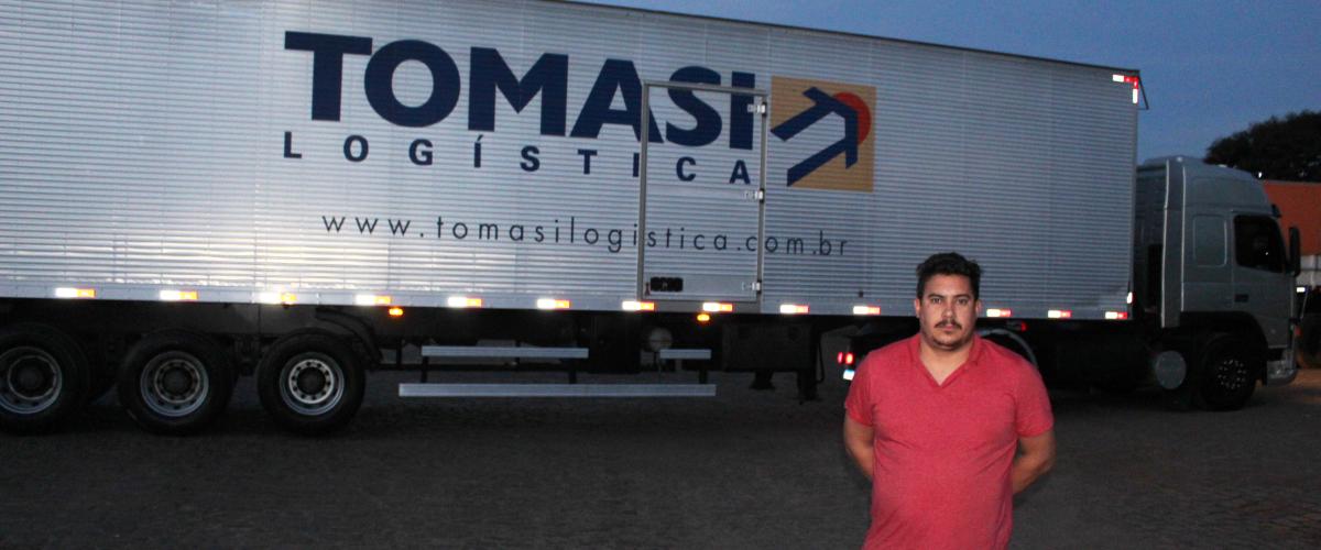 """""""A Tomasi Rede Logística abriu as portas para o meu próprio negócio"""""""