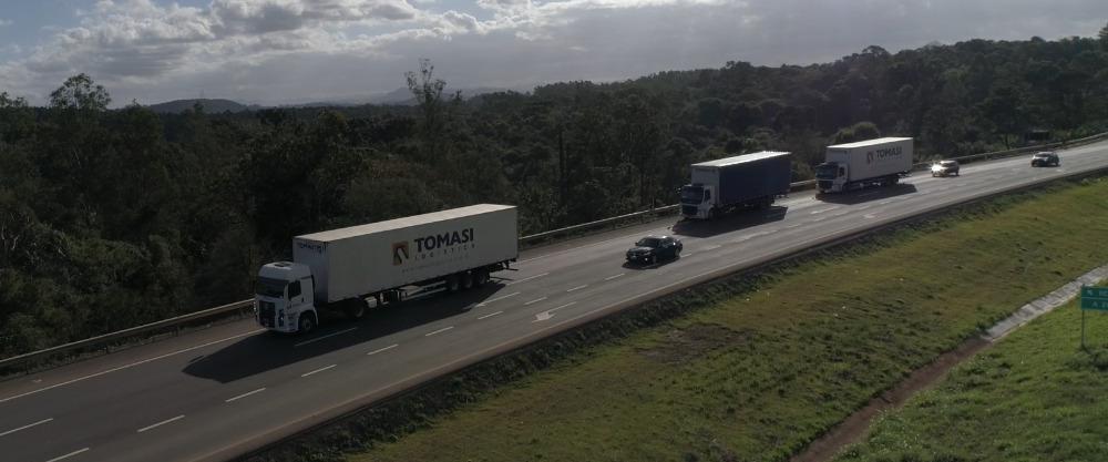 Tomasi Logística possui unidades em oito estados brasileiros